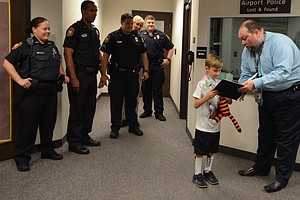 Boy Who Lost Stuffed Tiger At Airport Finds Tiger Stayed Very Busy