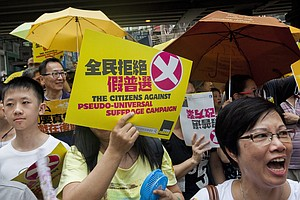 Beijing Brushes Aside Hong Kong's Rejection Of Electoral ...