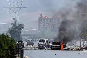 Taliban Attack Afghan Parliament In Kabul