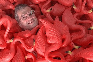 Man Who Created The Pink Plastic Lawn Flamingo Dies