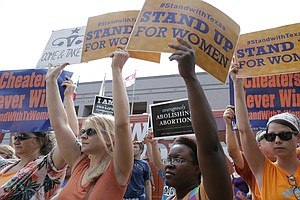 Texas Abortion Curbs Go Into Effect Soon, Unless Supreme Court Acts