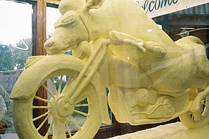 A Toast To Butter Sculpture, The Art That Melts The Hearts Of The Masses