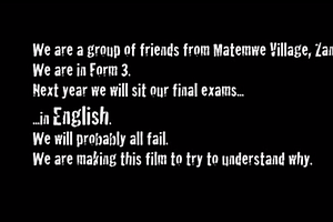 Teens Make Film In Broken English To Explain Why They'll Fail English