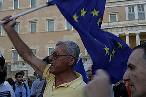 Their Country In Turmoil, Some Greeks Now Lash Out At Each Other