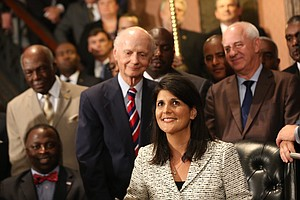 South Carolina Gov. Nikki Haley Signs Confederate Flag Bi...