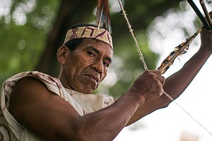 The Real Hunger Games: Peru's Wachiperi Use Arrows To Nab Dinner