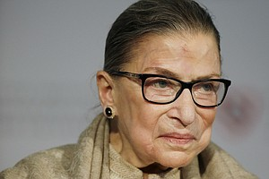 Ginsburg: Liberal Justices Make A Point To Speak With One...