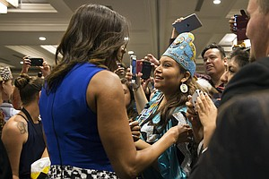 White House Hosts Tribal Youth, The 'Heart Of The America...