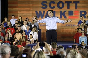 Vowing To Turn Things Around, Scott Walker Launches Presi...