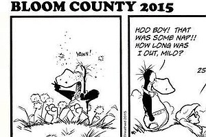 Bloom County 2015: Berkeley Breathed Revives Comic Strip