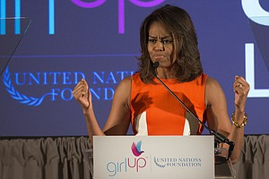 Michelle Obama Is A Rock Star For Global Teen Activists