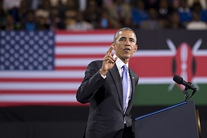 President Obama Urges Kenyans To 'Choose Path Of Progress'