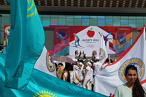 Some Kazakhs Celebrate The Loss Of the 2022 Winter Olympics