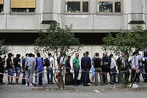 In Germany, Asylum-Seekers Could Fill A Chronic Workforce...