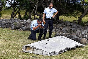More Plane Debris Washes Up On Réunion Island