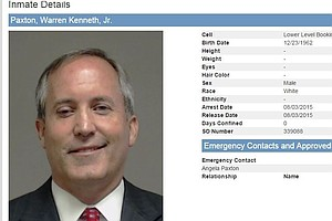 Texas Attorney General Turns Himself In On Fraud Charges