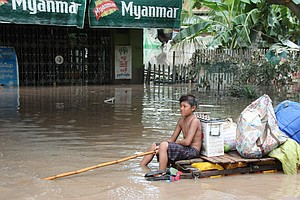 Monsoon Flooding Kills Dozens In Myanmar, Prompting Calls For Help