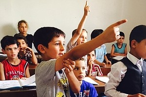 A Syrian Refugee School: Nearly 2,000 Students, 5 Shifts, 3 Languages