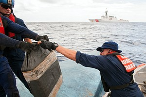 U.S. Coast Guard Seizes $181 Million In Cocaine In Massiv...