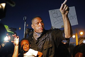 More Than 20 Arrested In Ferguson; Armed 'Oath Keepers' W...