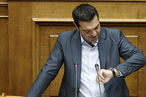 In Long, Raucous Session, Greek Parliament OKs Draft Bailout