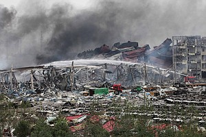 Chinese Port Explosions: Death Toll Rises As Investigatio...