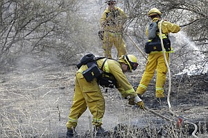U.S. Army Soldiers Mobilized To Help Suppress Wildfires F...