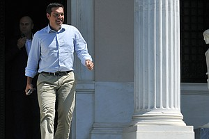 Greek PM Steps Down, Calls New Elections, In Wake Of Bail...