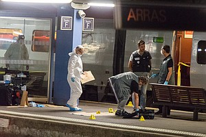 Gunman On French Train Wounds 3; Reportedly Subdued By 2 U.S. Marines