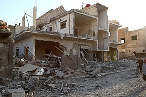 Activists Call For An End To Deadly Syrian Barrel Bomb Attacks