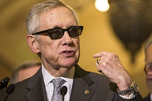 Sen. Harry Reid Announces He's Backing Iran Nuclear Deal