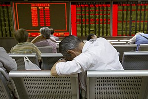 Chinese Markets Stumble Again, But World Markets Stabilized