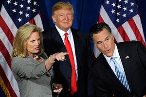 #TBT: For Trump And Romney, What Happened In Vegas, Stayed In Vegas