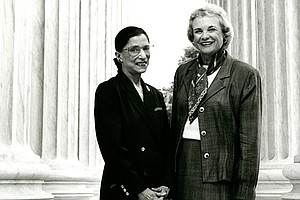 Ruth Bader Ginsburg And Sandra Day O'Connor, 'Sisters In ...