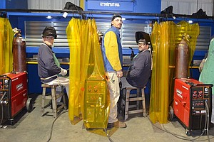 Amid A Shortage Of Welders, Some Prisons Offer Training