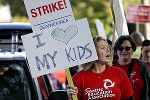 Schools Cancel First Day Of Class In Seattle Over Teacher Strike