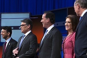 Why Should Candidates Show Up To The 'Kids' Table' Debate?