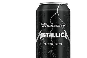 ... And Beer For All: Budweiser Makes A Metallica Beer In Canada