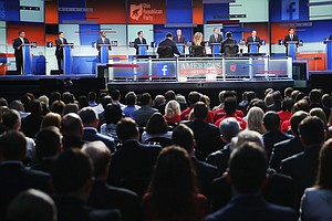 CHAT TONIGHT: Join NPR's Politics Team For The Republican...