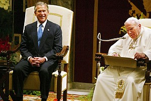 The Complicated History Of Popes And U.S. Presidents