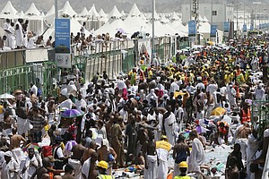 Saudi Arabia Faces Criticism Over Hajj Stampede That Kill...