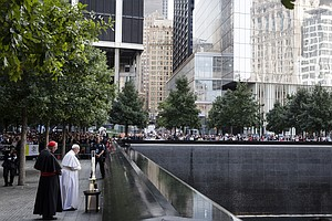 At Sept. 11 Memorial, Pope Francis Says 'Grief is Palpable'