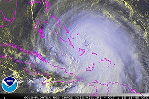 Joaquin Lashes Bahamas, Could Have Eastern U.S. In Crosshairs