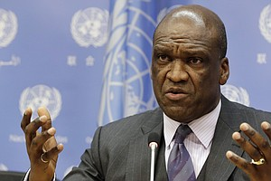 Former UN General Assembly President Charged In Corruption Scheme