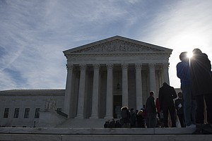 Supreme Court To Lawyers: Hold Your Own Place In Line