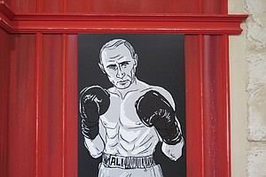 In Honor Of His 63rd, Putin Plays Hockey And Is Painted As The Buddha