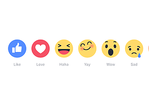 Beyond The 'Like' Button: Facebook Comes To Our Emotional Rescue
