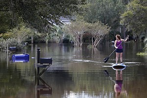 More Rain Is Forecast, As South Carolina Recovers From Floods