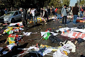 At Least 30 Killed In Turkey Twin Blasts At Peace Rally