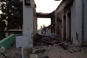 U.S. Will Make 'Condolence Payments' To Victims Of Kunduz Hospital Airstrike